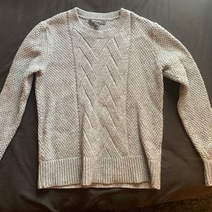 Gray sweater with nice detail